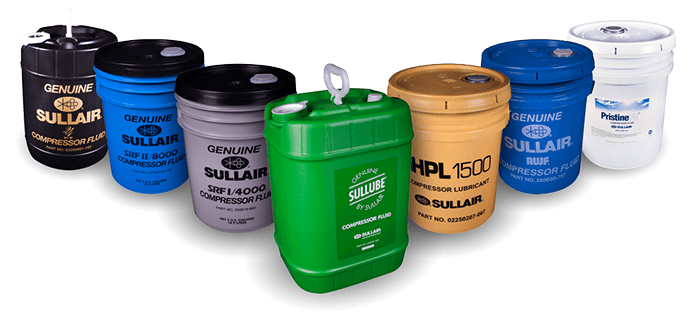 Sullair lubricants